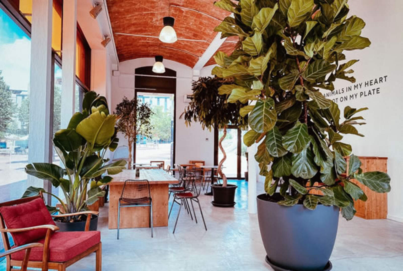 El restaurant de Terrassa ubicat al Vapor Gran