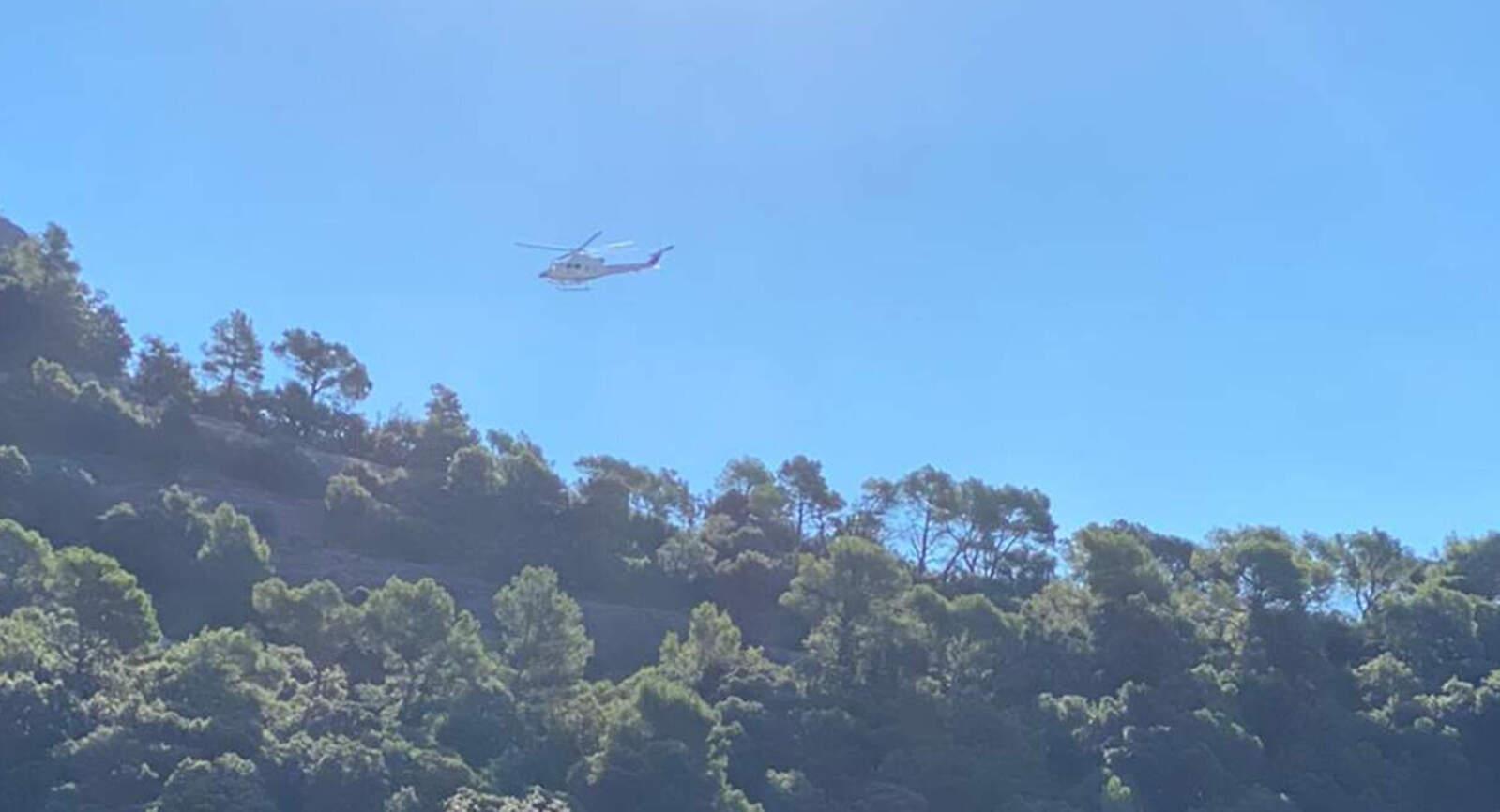 Rescat amb helicòpter a Sant Llorenç aquest dissabte al matí