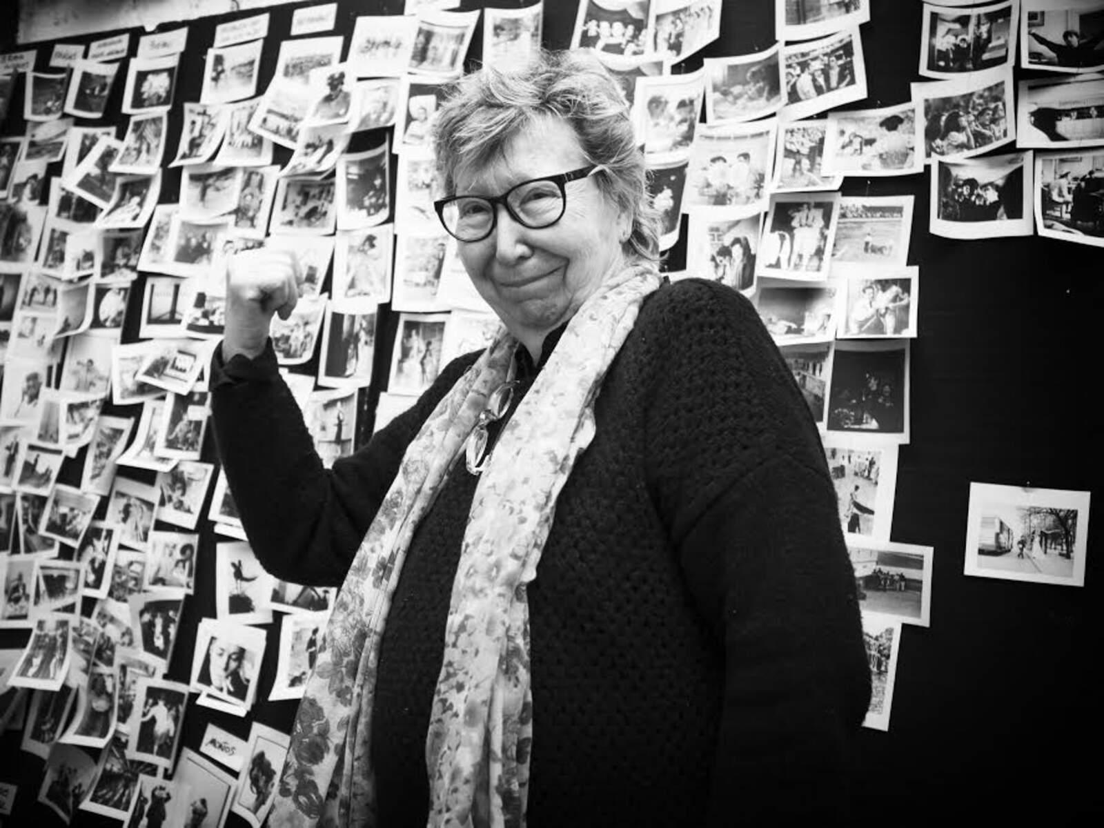 Fotografia de Joana Biarnés inclosa dins de l'exposició