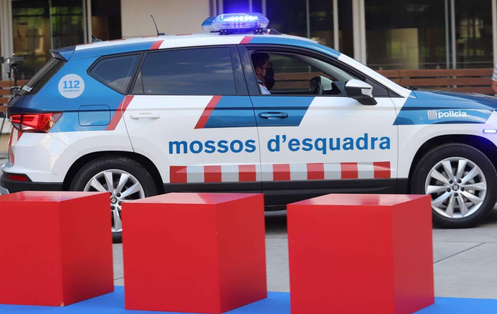 Presentació de la nova imatge dels vehicles patrulla dels Mossos d'Esquadra