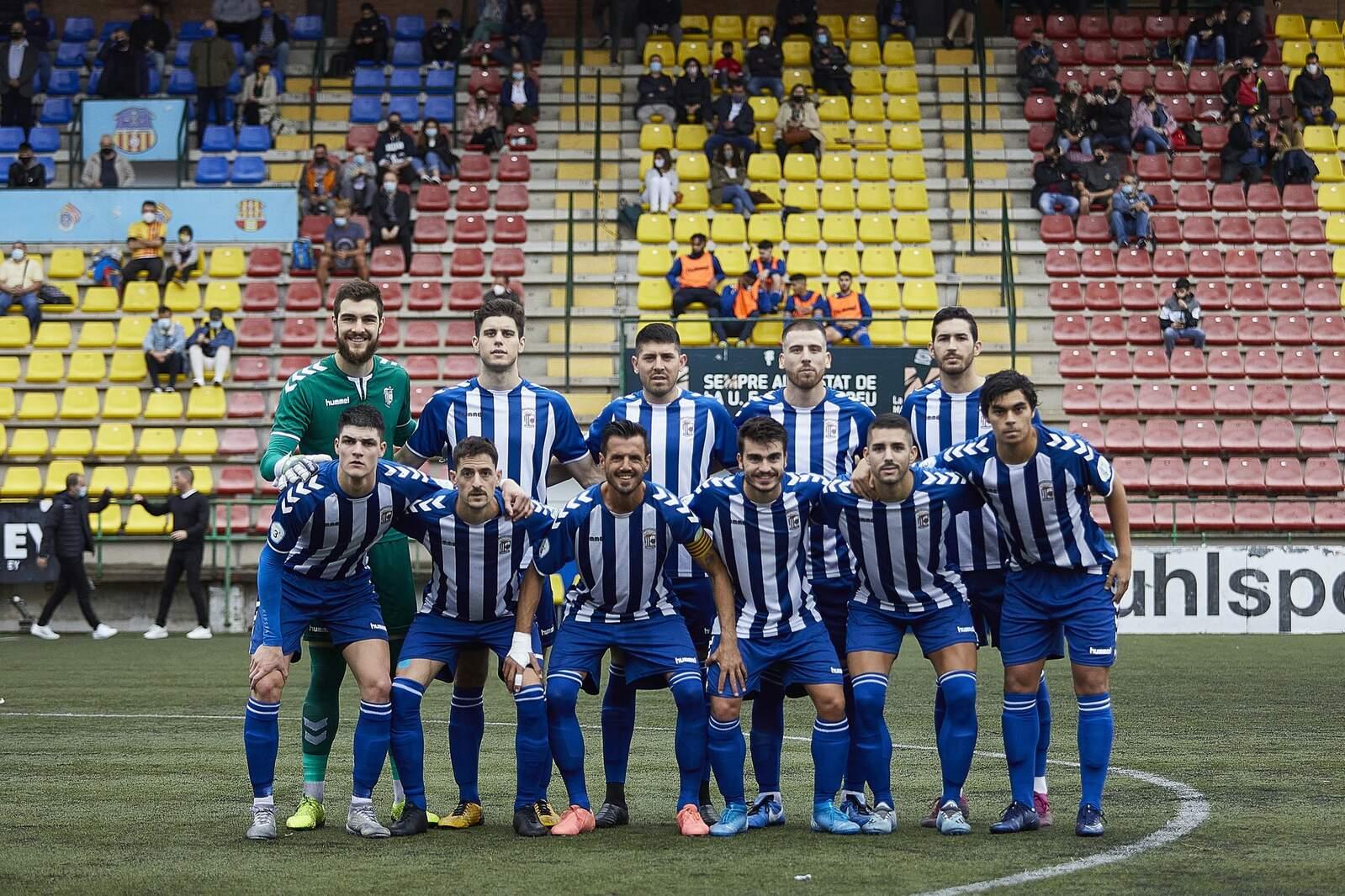 Onze inicial del CP San Cristóbal