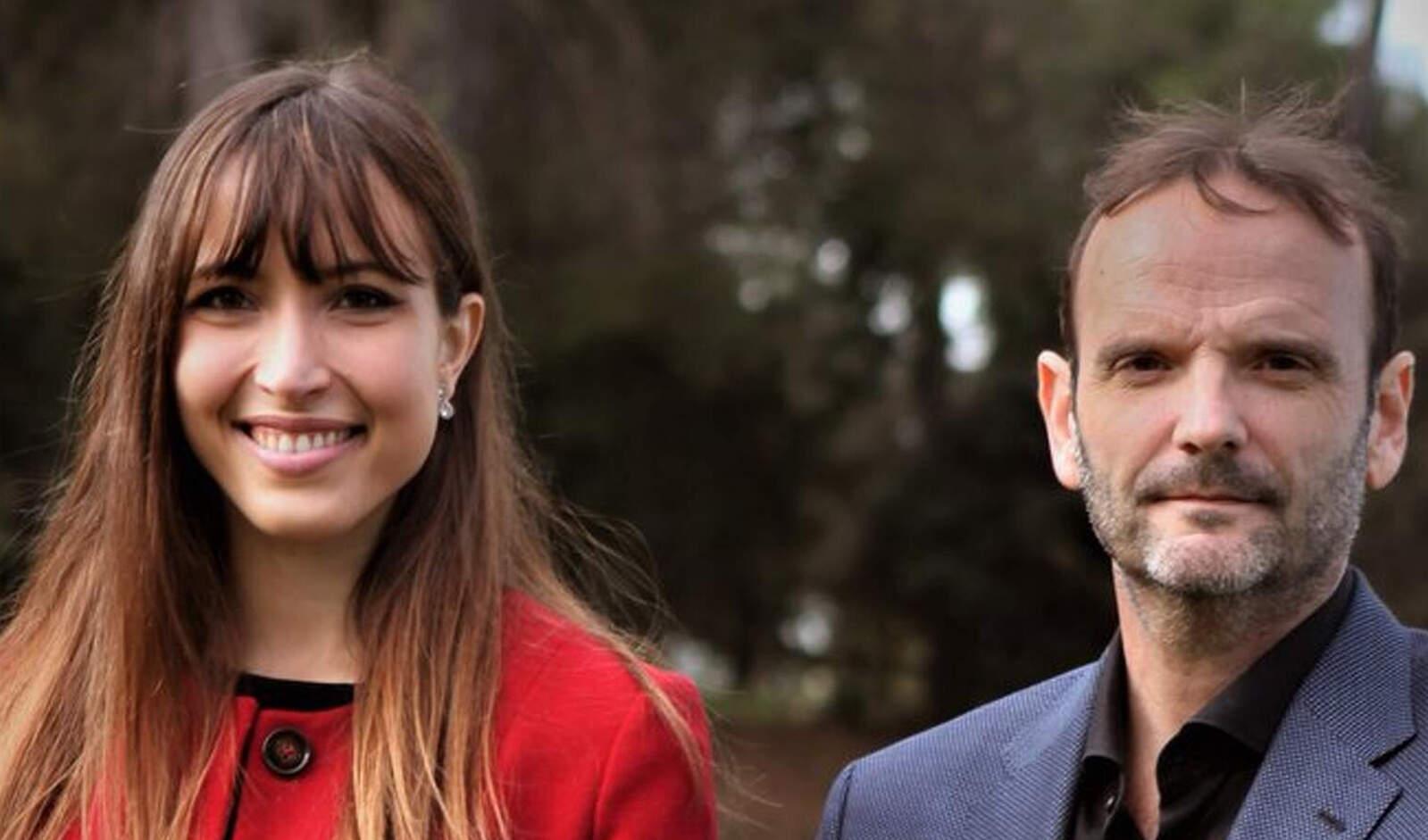 Isabel Martínez i Javi González, regidors de Ciutadans a Terrassa