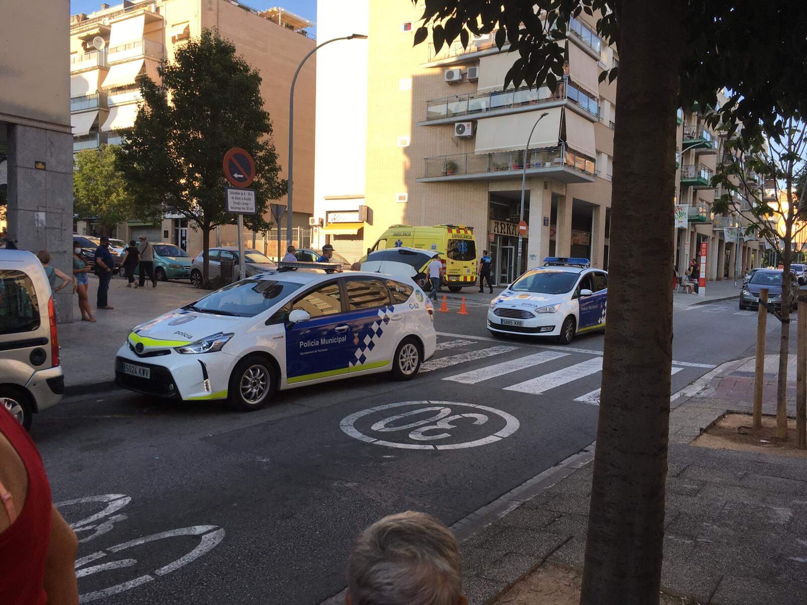 Atropellament a carrer Tarragona de Terrassa