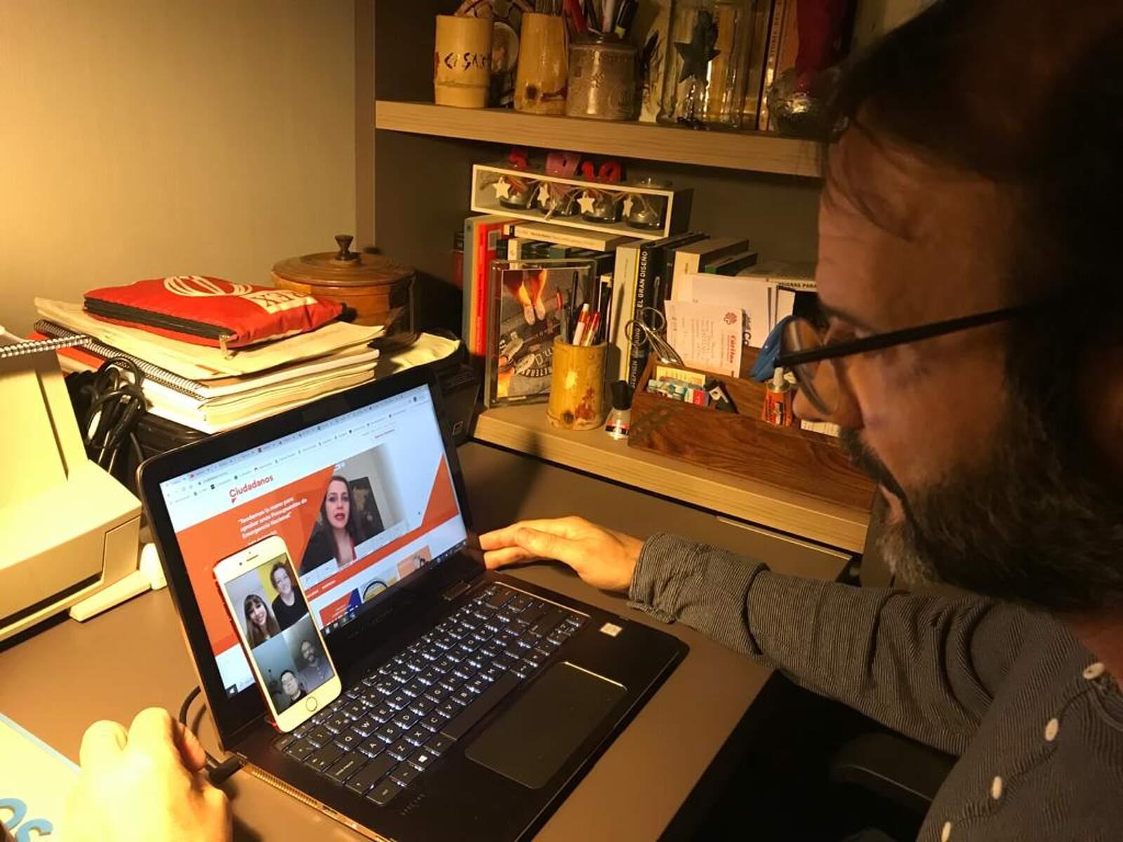 Javi González, portaveu de Cs Terrassa