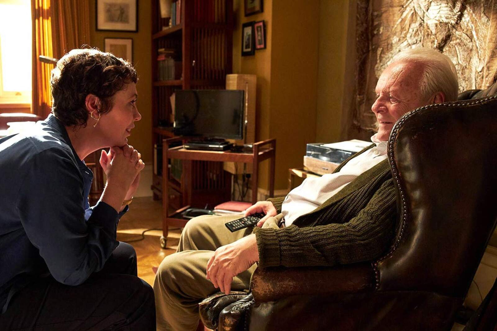 La pel·lícula The Father amb Anthony Hopkins i Olivia Colman