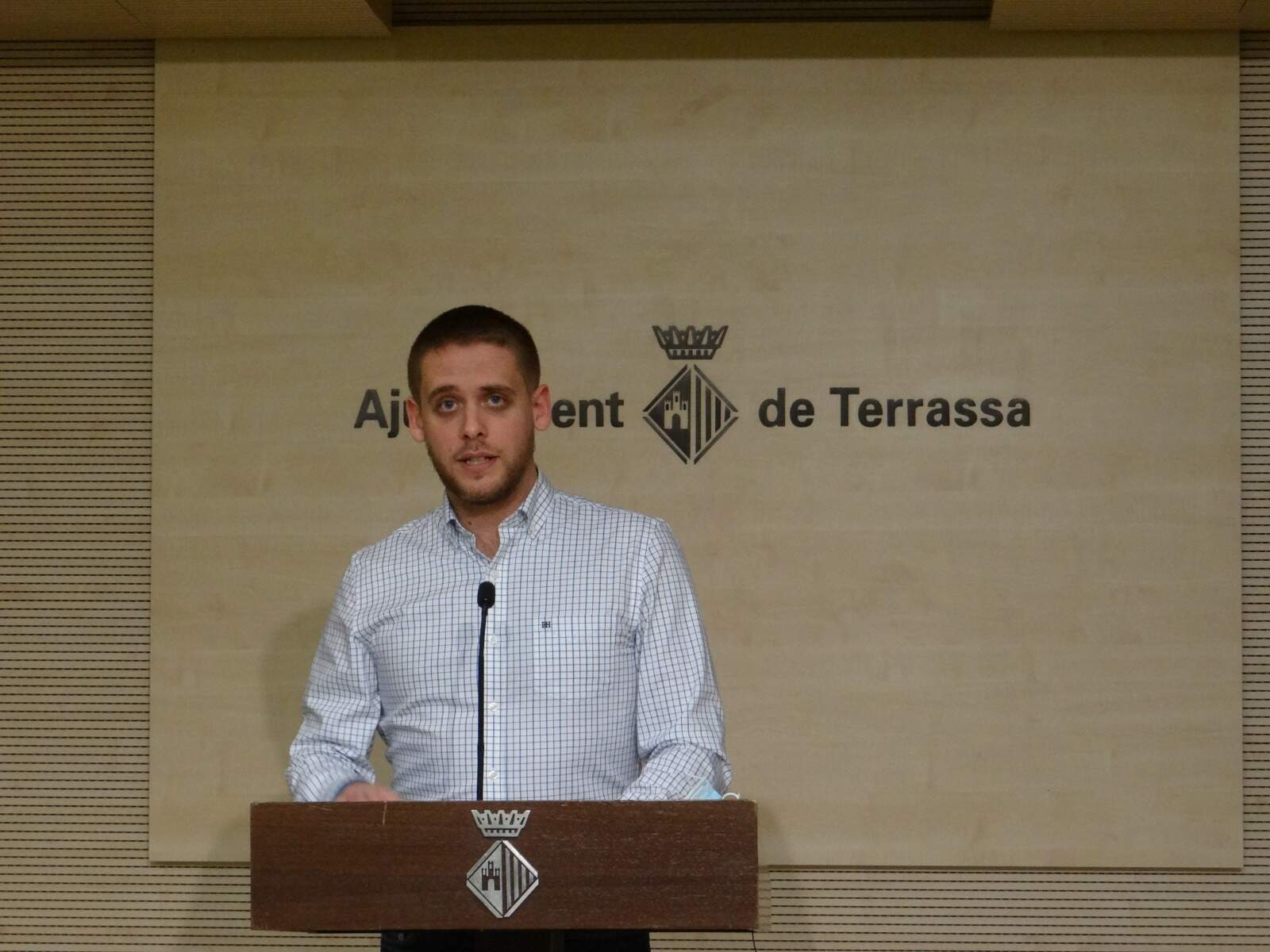 Javier García, del Grup Municipal Socialista