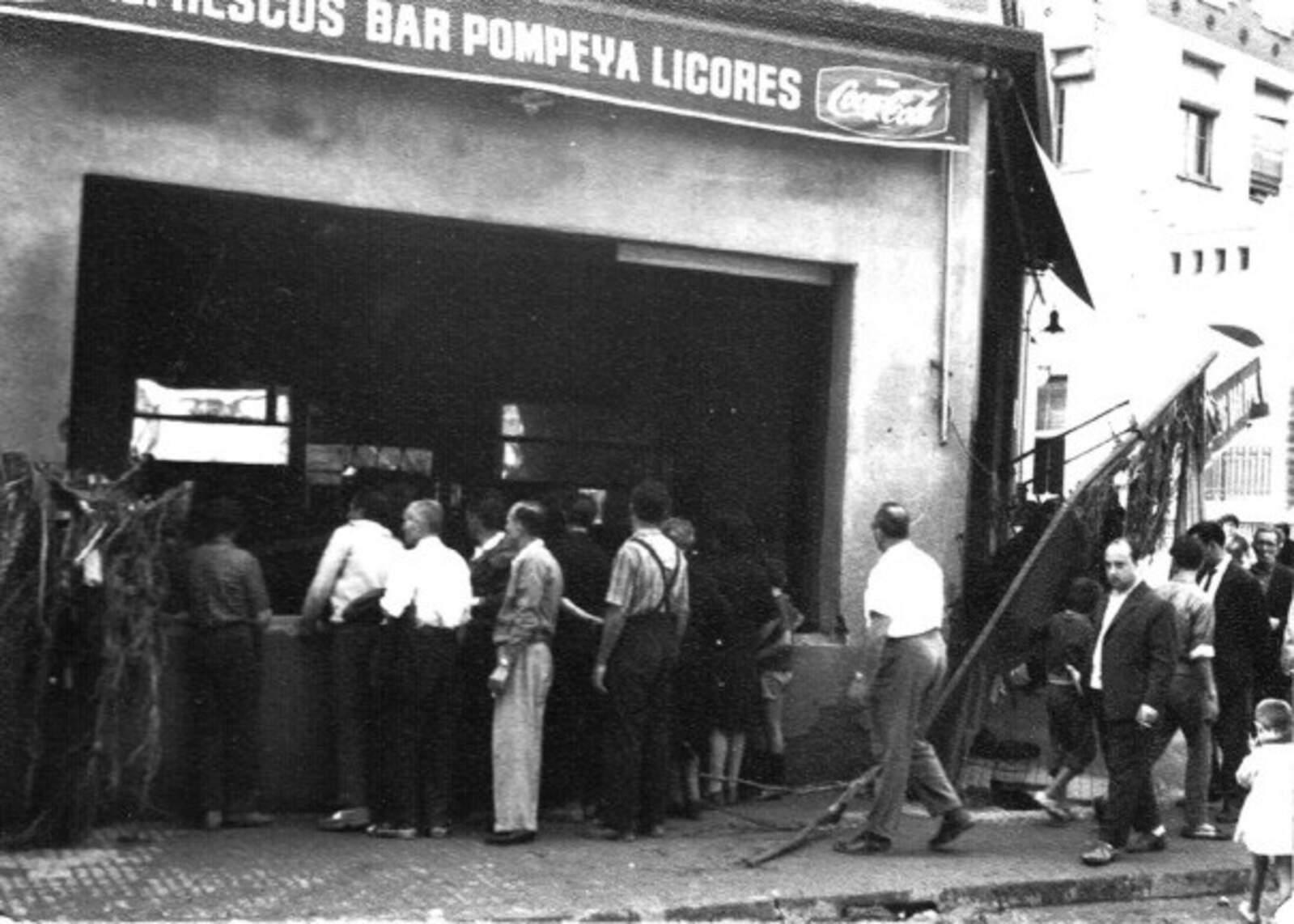 El bar Pompeya va ser víctima de la riuada
