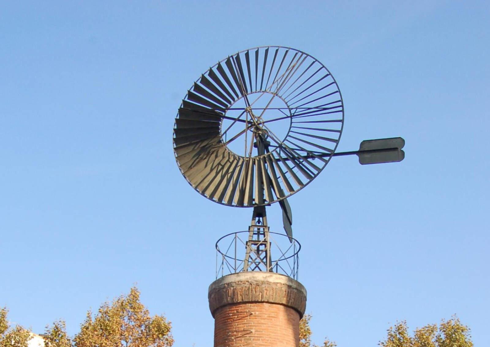 Molí de vent del Camí de Castellar