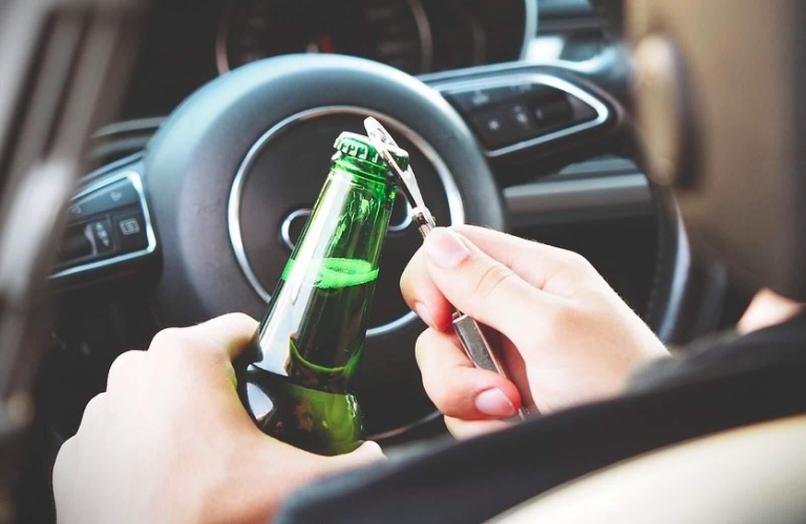 Cervesa i conducció, mala combinació