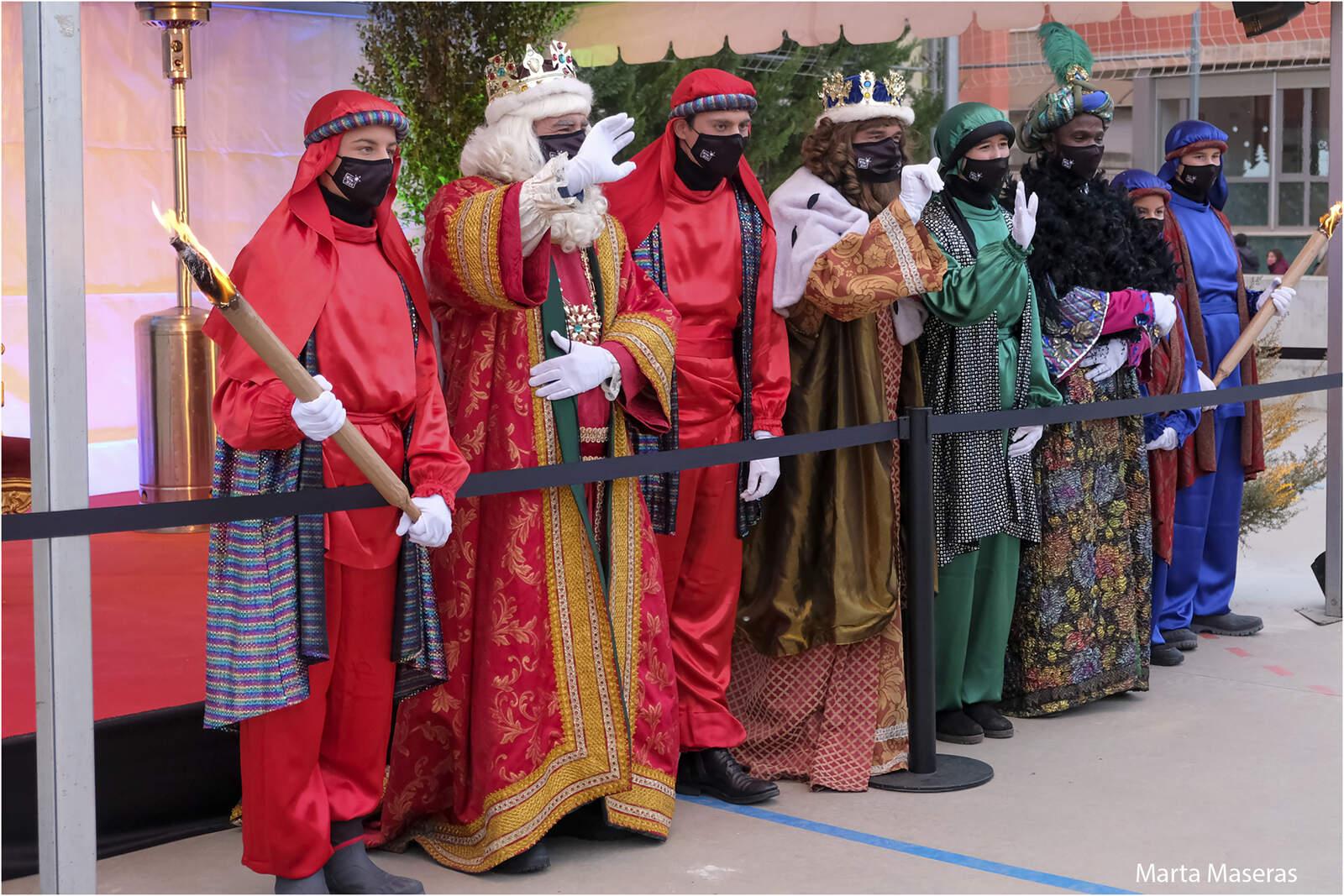 Els Reis d'Orient, a l'escola Sant Llorenç de Terrassa (D6)