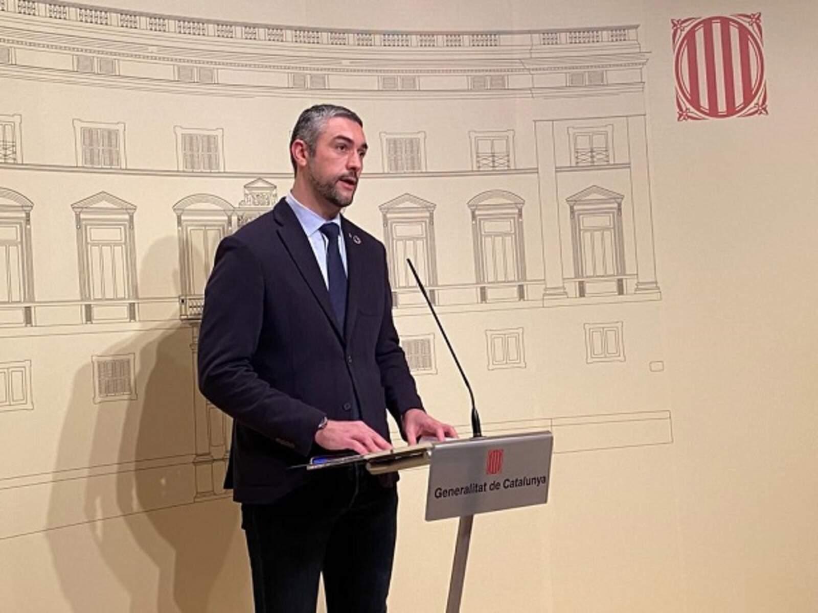 El conseller d'Acció Exterior Bernat Solé