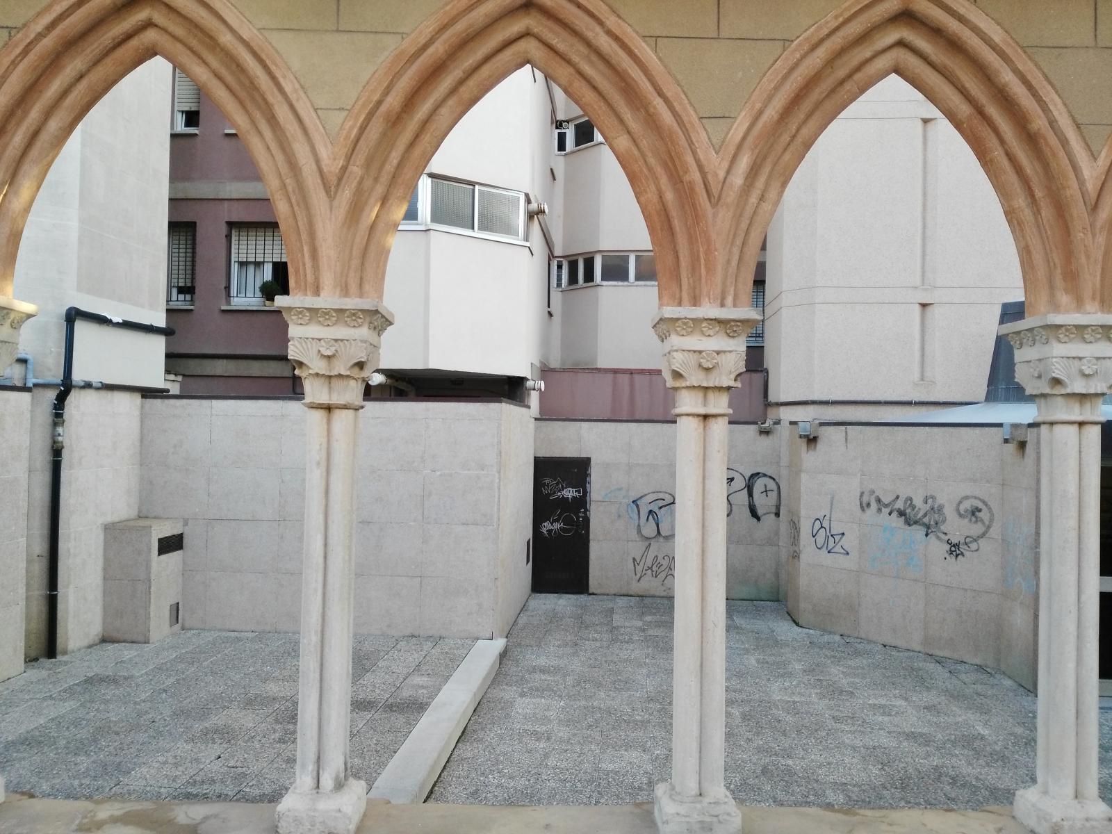 claustre de Sant Pere de Puelles de Barcelona