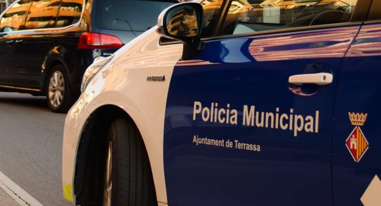Control policial a Terrassa