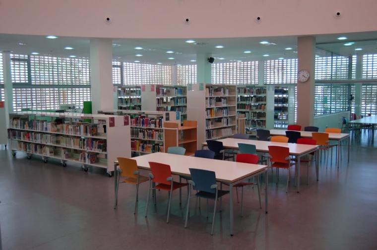 La Biblioteca del Districte 4 de Terrassa
