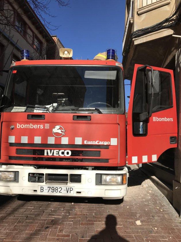 Els Bombers han actuat al carrer Unió  | Carles Amador