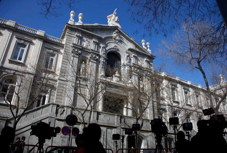 La façana principal del Tribunal Suprem    ACN