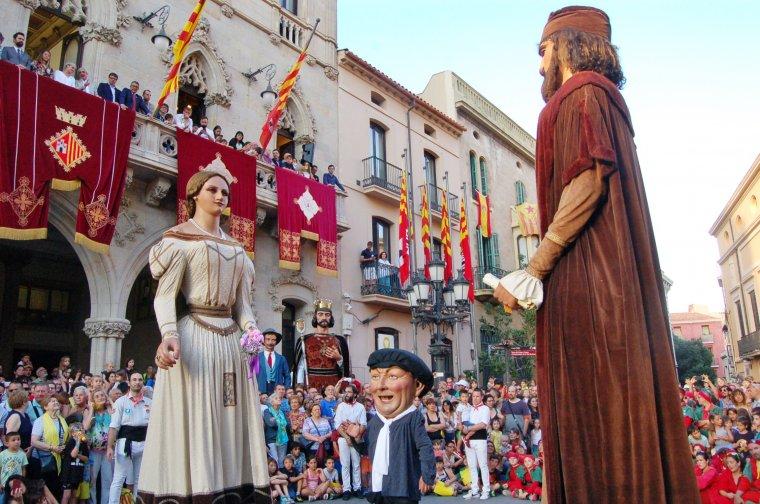 Balls d'inici de la Festa Major de Terrassa i pregó de Losada i Corredera    Ramon Navarro