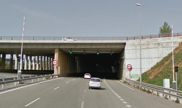 B-40, sota el pont de Can Trias  | G.M.