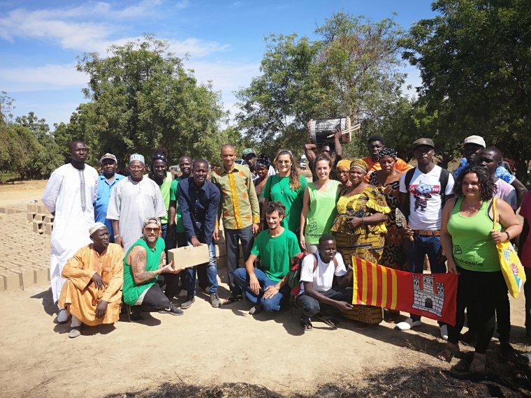 Comença la construcció d'una escola a Gàmbia gràcies a la cooperació terrassenca    cedida