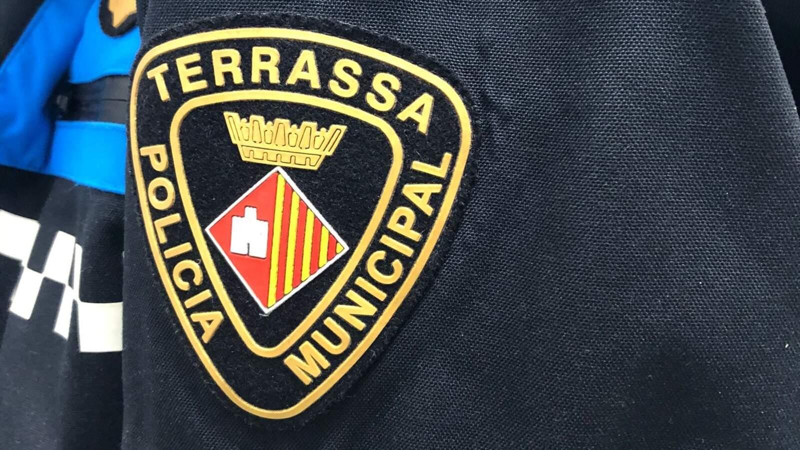 Escut de la Policia Municipal de Terrassa