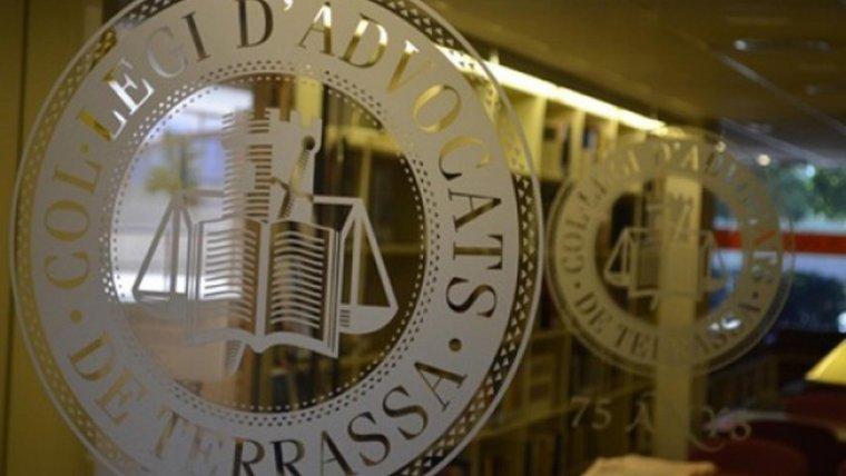 Entrada al Col·legi d'Advocats de Terrassa  | ICATER