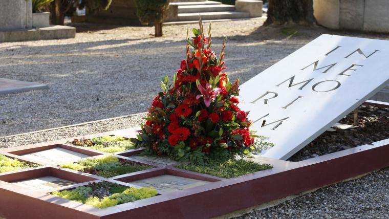 Tots Sants al cementiri de Terrassa    Cristóbal