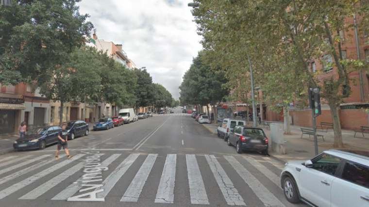 L'avinguda d'Àngel Sallent de Terrassa  | GM