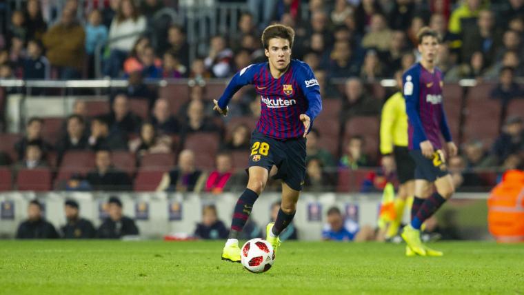 Riqui Puig, durant el Barça-Cultural Leonesa de la Copa del Rei.  | FC Barcelona