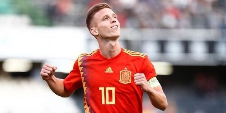 Dani Olmo, durant un partit amb la selecció espanyola sub 21  | Europa Press