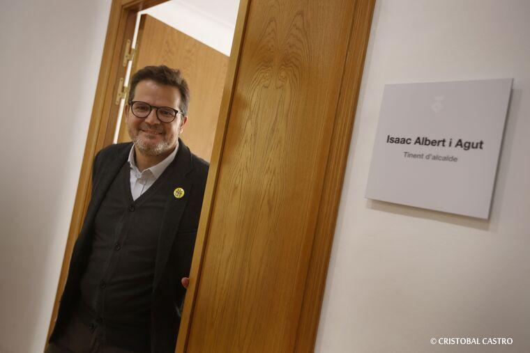 Isaac Albert, tinent d'alcalde i portaveu d'ERC a l'Ajuntament de Terrassa  | Cristóbal Castro