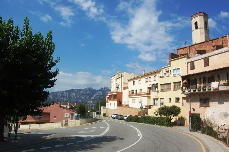 Cruïlla entre la BV-1212 i el carrer Salvador Badia  | Aj. Vacarisses