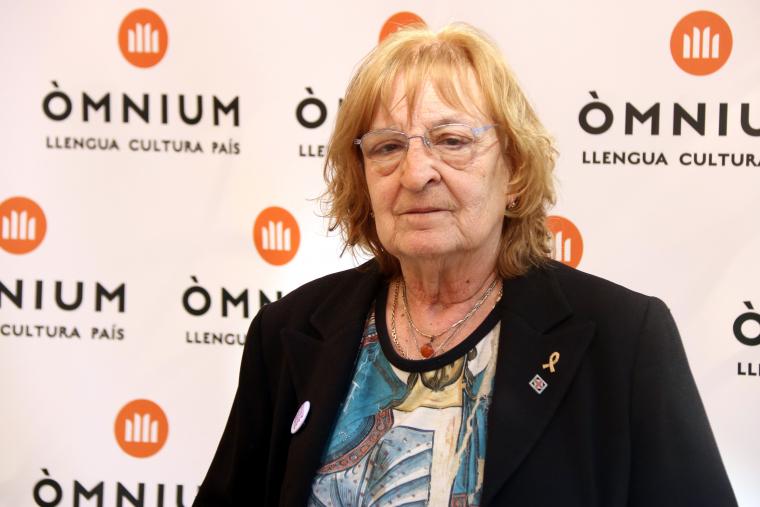 La poeta Marta Pessarrodona, guanyadora del 51è Premi d'Honor de les Lletres Catalanes  | ACN