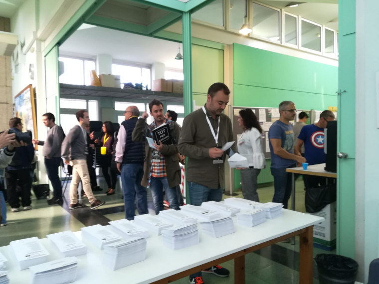 Ballart ha votat al col·legi del Segle XX    Marta Maseras