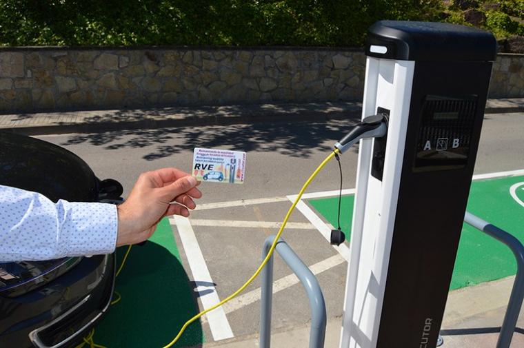Punt de recàrrega de vehicles elèctrics  | Aj. Viladecavalls