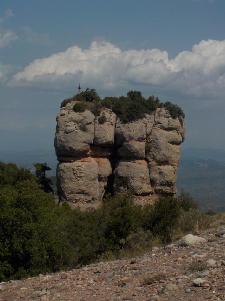 Vista del Morral del Drac, al Parc Natural de Sant Llorenç    Càrol Paez