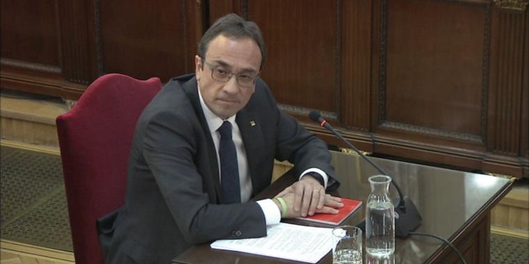 Josep Rull, declarant al Tribunal Suprem  | ACN