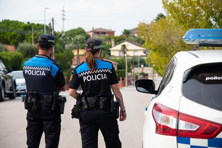 Una patrulla de la policia local de Castellbisbal  | Aleix Mateu