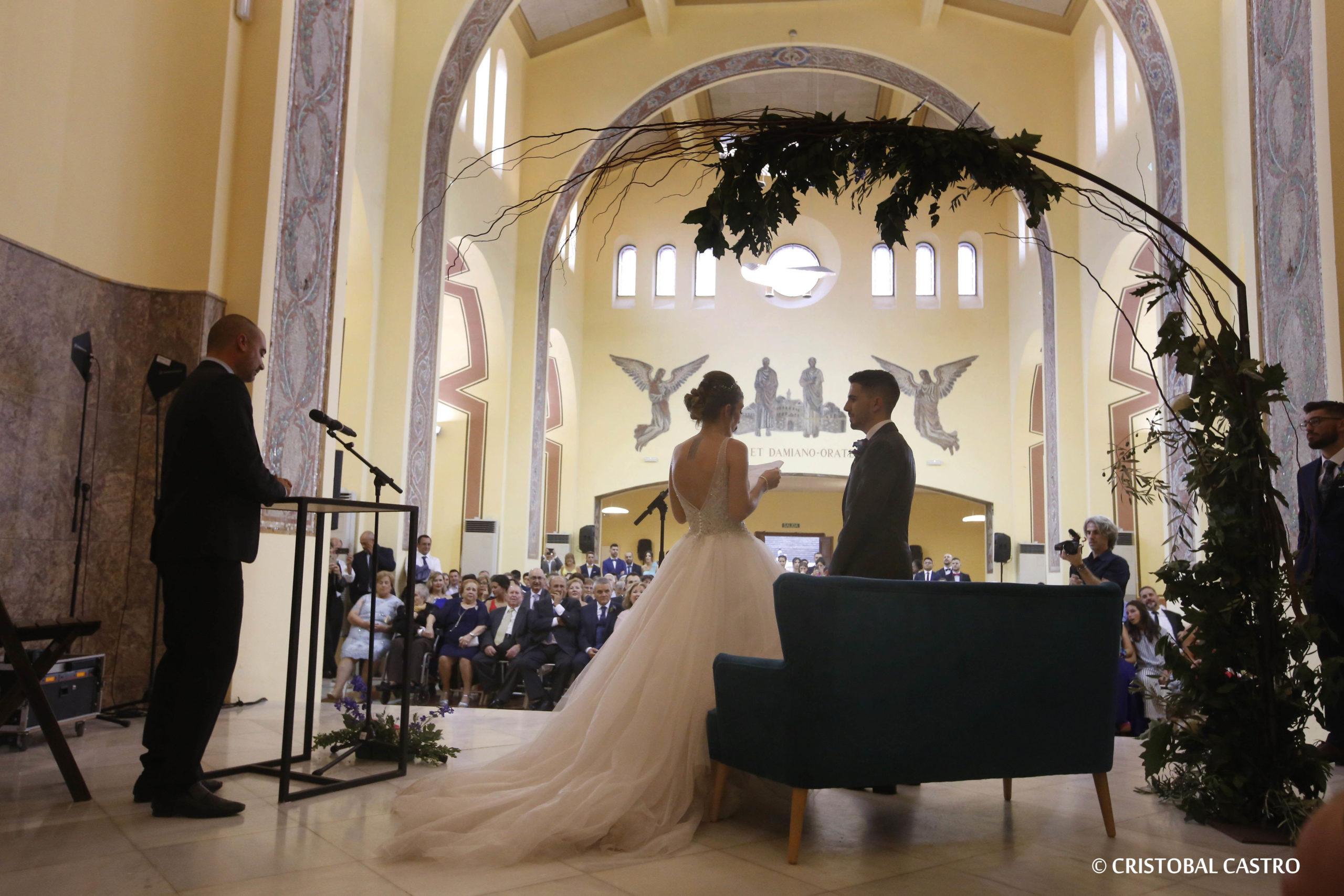 Un casament real de pel·lícula al Parc Audiovisual de Terrassa