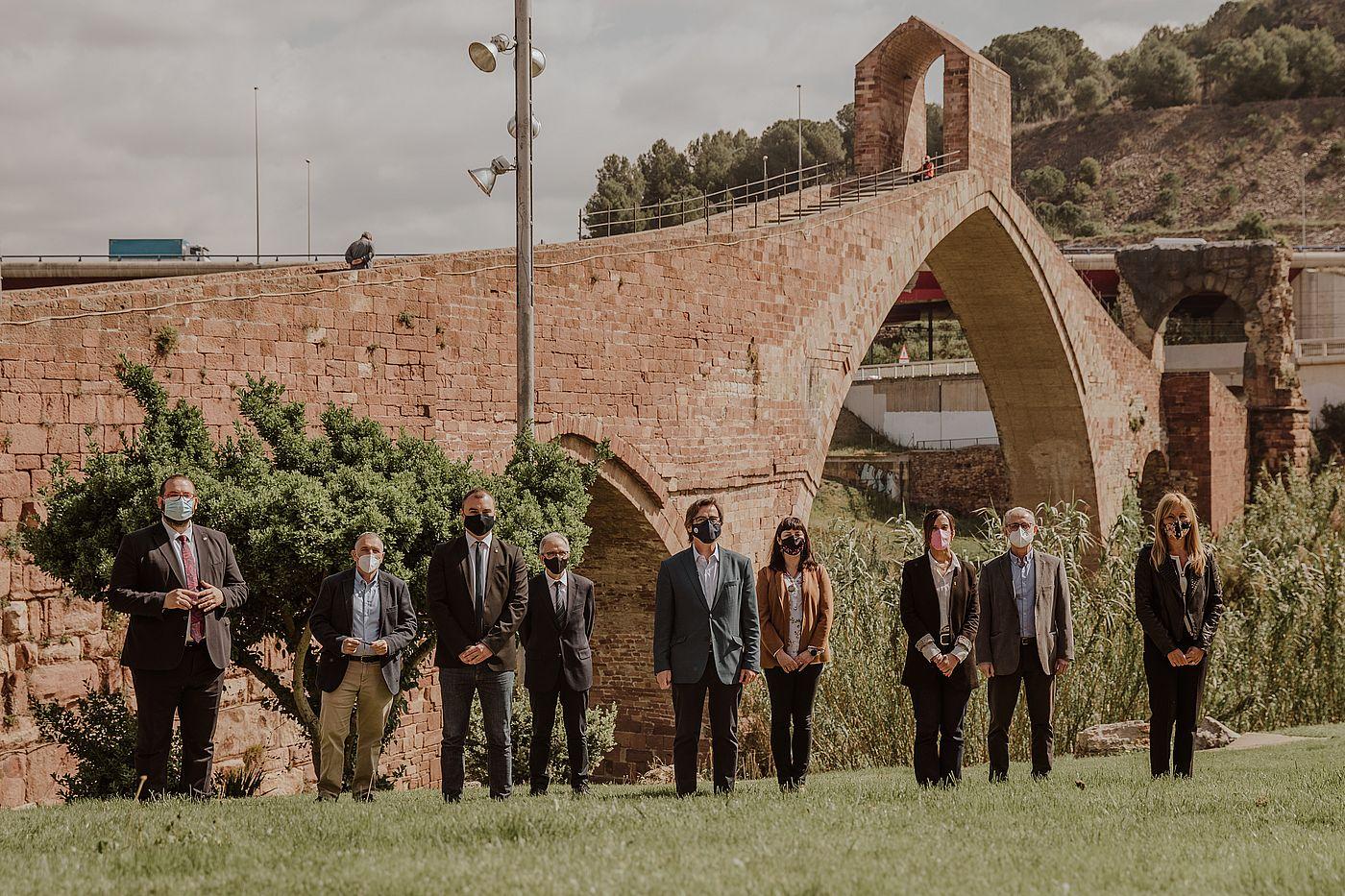 Els alcaldes de la nova entitat l'Associació de Municipis de l'Arc Metropolità | Grisphoto