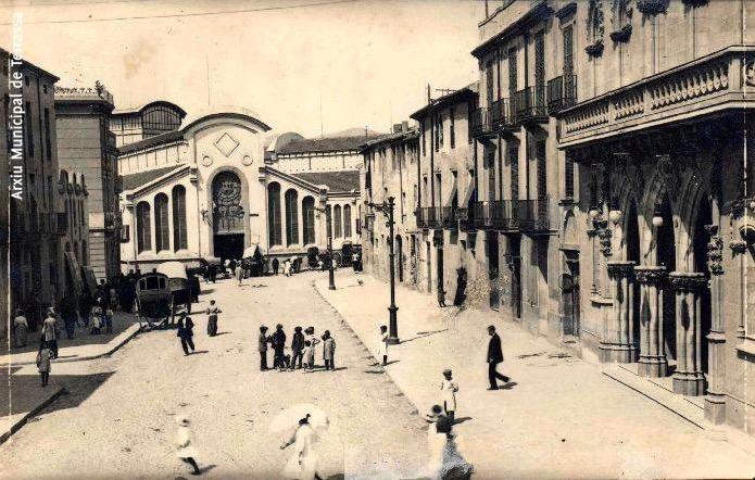 El Raval de Montserrat. Any 1920 | Fons Ragon - AMAT
