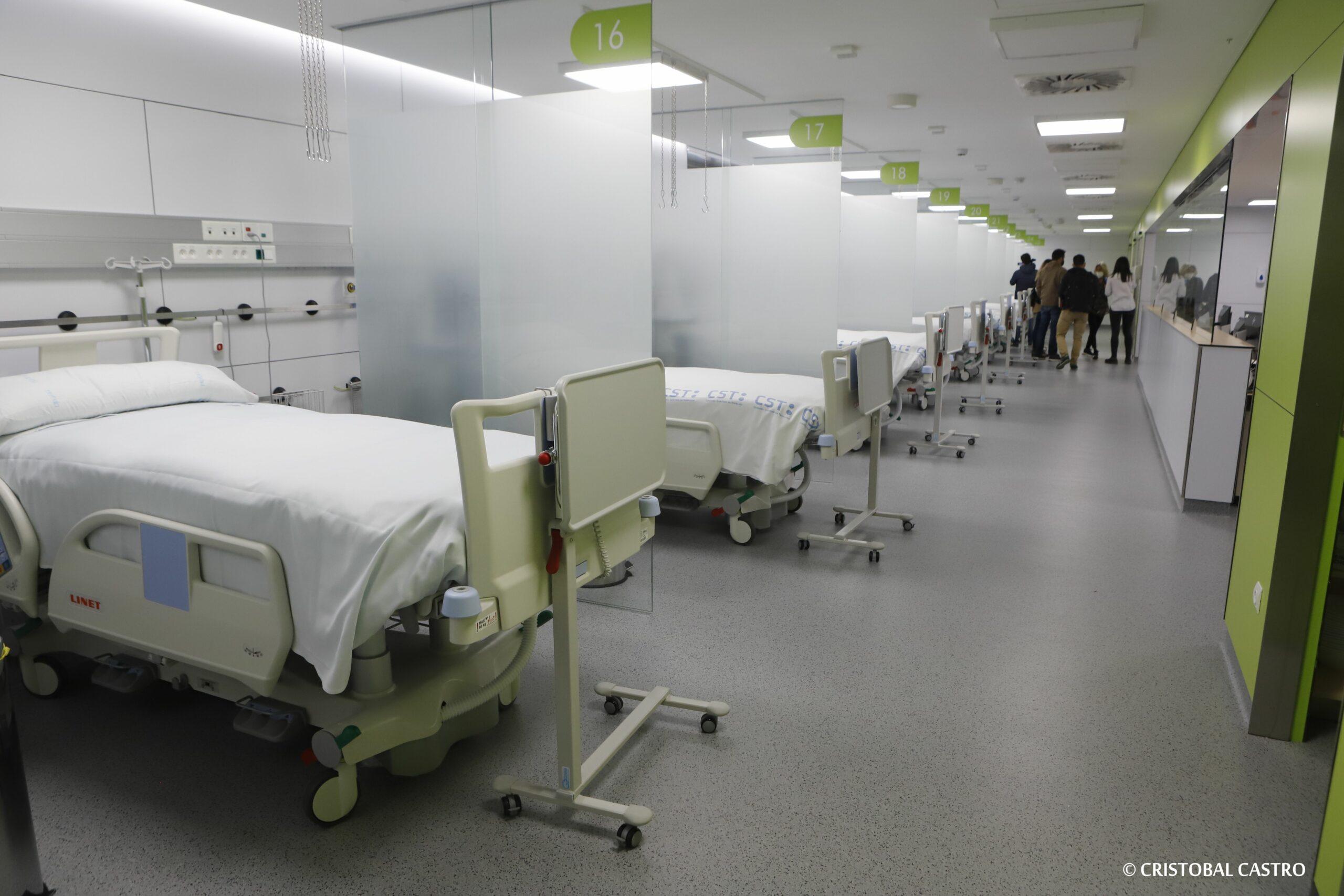 Nou equipament polivalent a l'Hospital de Terrassa | Cristóbal Castro