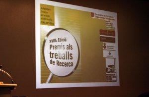 Lliurament dels premis treball de recerca a Terrassa, Vacarisses, Matadepera i Viladecavalls