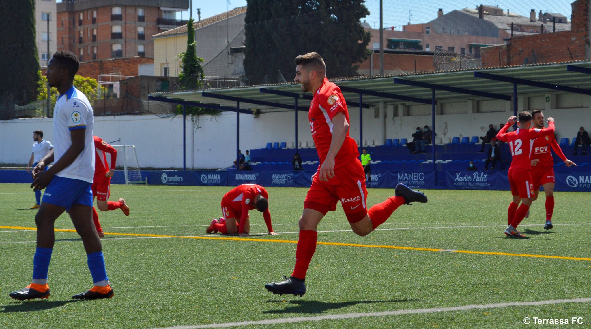 Lucas Viña celebrant el gol | Juanma Medina