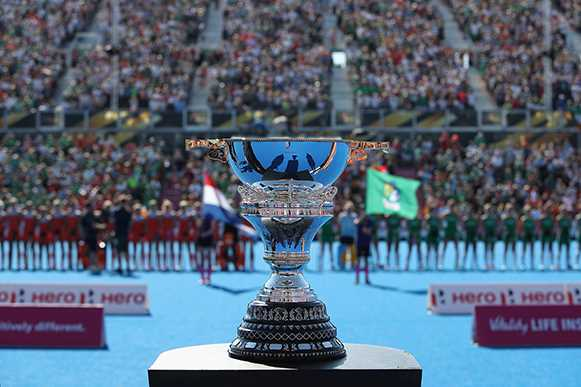 La copa del Mundial de 2018 a Londres | FIH