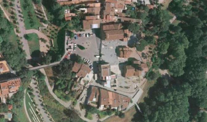 Vista aèria de la Seu d'Ègara | Aj. Terrassa