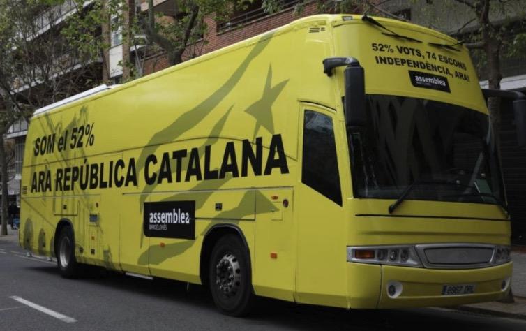 Bus campanya Destí Independència