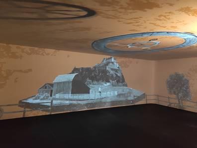 Sala de projecció immersiva del mNACTEC