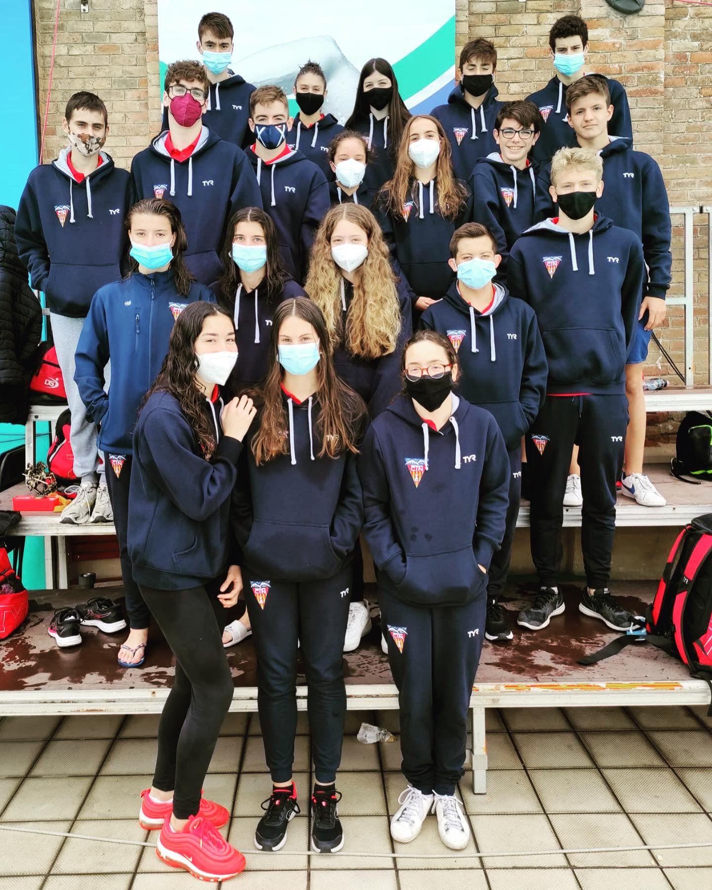 Els nedadors del CN Terrassa al Trofeu Sant Jordi | CNT