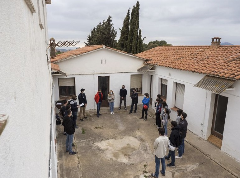 imatges de l'acte de cessió/Miquel Badia