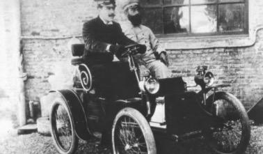 El cotxe d'Eduard Niquet Foto: AMAT